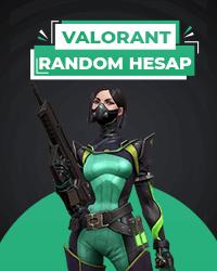 Valorant Random Hesap