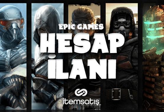 43 Oyunlu Epic Games Hesabı