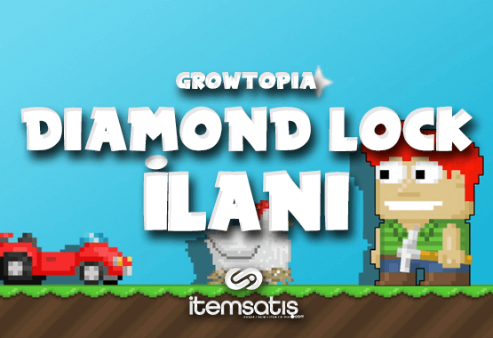 Growtopia 20 Diamond Lock