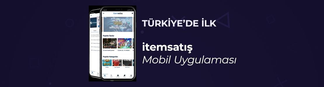 İtemsatış Mobil Uygulaması. Türkiye'de İlk!