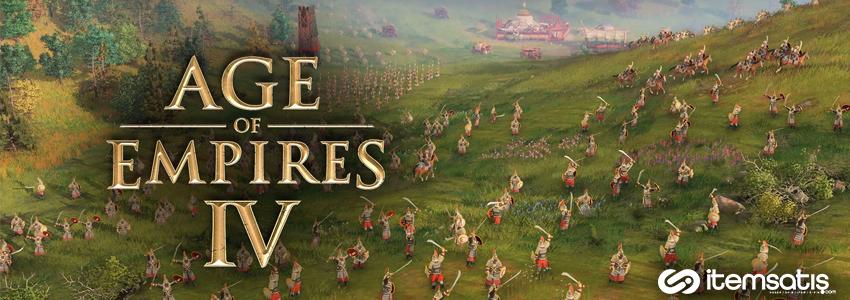 Age of Empires 4'ün Fiyatı ve Çıkış Tarihi Belli Oldu