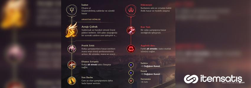 League of Legends Akali Oynanış Rehberi