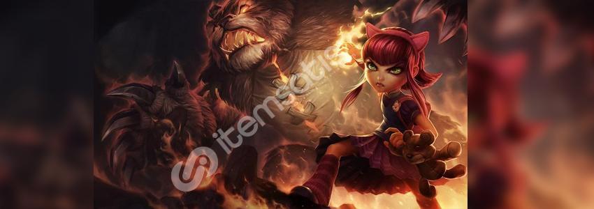 League of Legends Annie Oynanış Rehberi