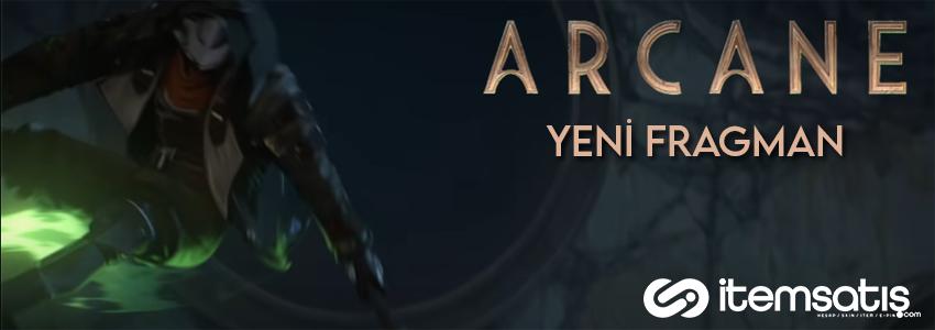 League of Legends Dizisi Arcane'den Yeni Fragman