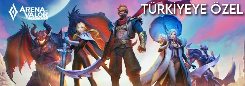 Arena of Valor: Yeni Çağ Türkiye'ye Özel Olarak Çıkıyor