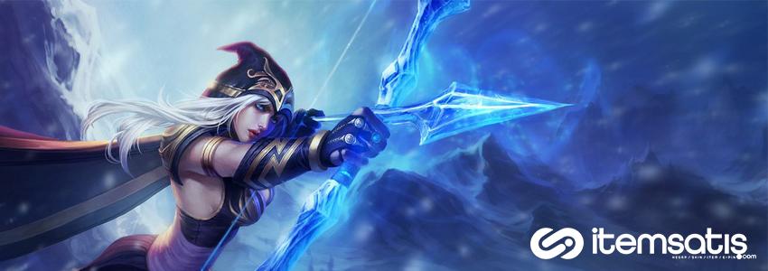 League of Legends Ashe Oynanış Rehberi
