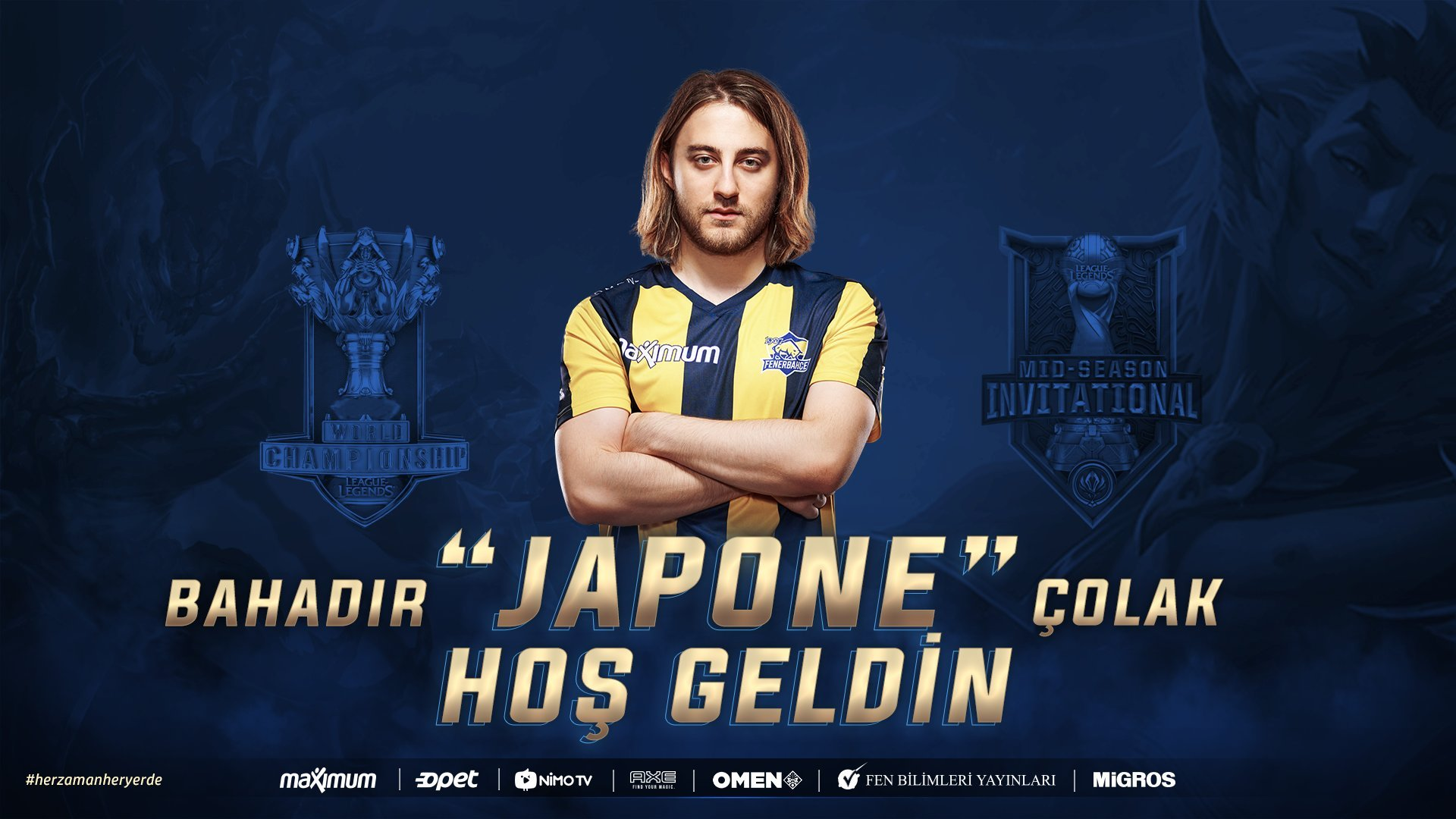 Japone Yeniden 1907 Fenerbahçe'de