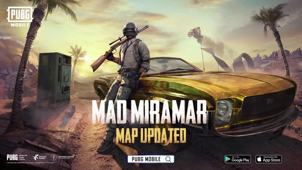 PUBG Mobile Miramar Harita Güncellemesi ve 0.18.0 Yaması