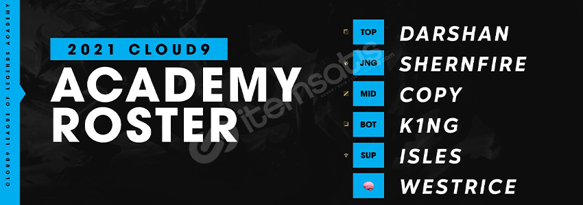 Cloud9 League of Legends Akademi Takımı Kadrosu Açıklandı