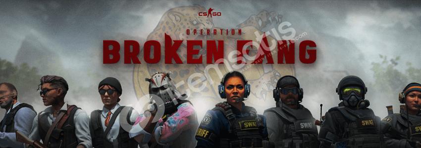 CS: GO Broken Fang Güncellemesi