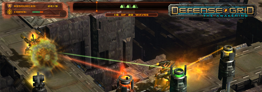 Epic Games, Defense Grid: The Awakening'i Ücretsiz Dağıtıyor
