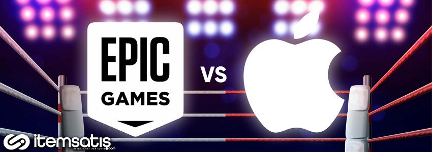 Epic Games'in Apple'a Açacağı Dava Teklifi Reddedildi