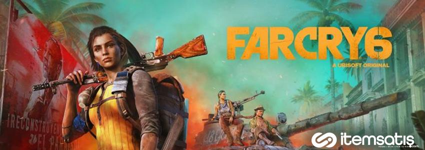 Far Cry 6 Oynanış Videosu ve Tarihi Yayınlandı
