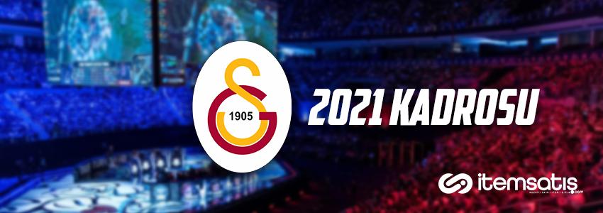 GS Espor 2021 Kış Mevsimi Kadrosu