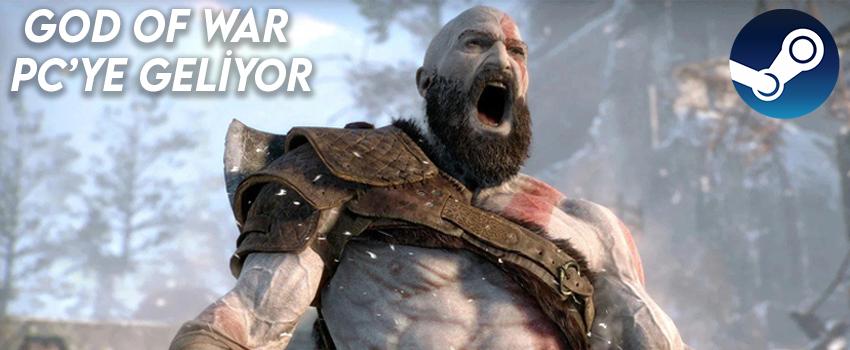 God of War PC'ye Çıkıyor: Steam Sayfasına Geldi