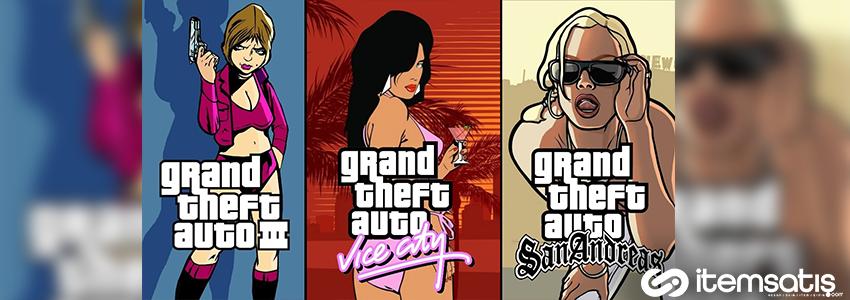 Grand Theft Auto Serisi Geri Dönüyor