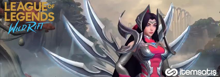 League of Legends Wild Rift, Irelia Tanıtıldı