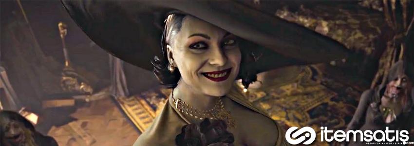 Resident Evil Village Lady Dimitrescu'nun Boyu Açıklandı