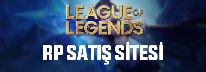 League of Legends LoL Riot Points (RP) Satış Sitesi