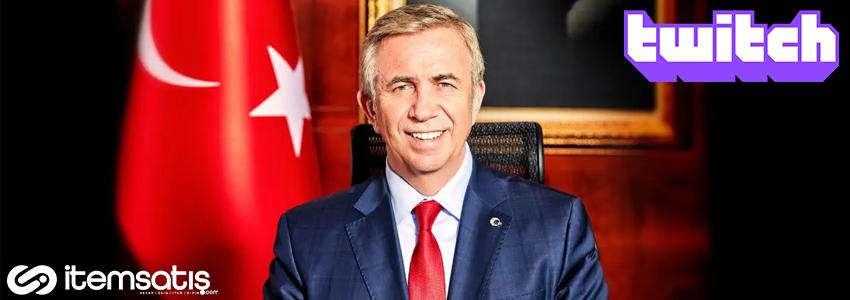 Ankara Büyükşehir Belediye Başkanı Mansur Yavaş, Twitch'te Canlı Yayınlara Başlayacağını Eğlenceli Bir Videoyla Duyurdu