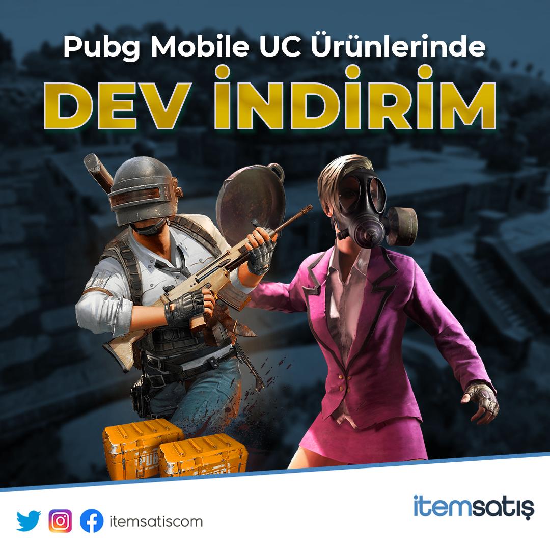 Pubg Mobile UC Ürünlerinde %20'ye varan indirim fırsatı!