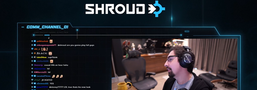 Shroud Twitch'e Geri Döndü!