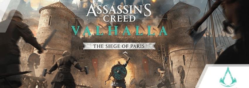 Assassin's Creed Valhalla Siege of Paris DLC'si Geliyor