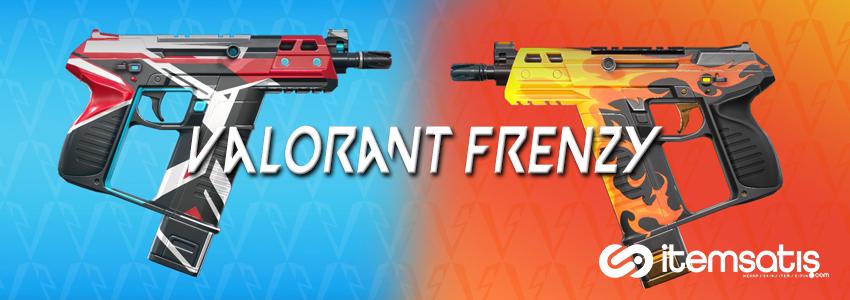 Valorant Frenzy Tabancası Özellikleri