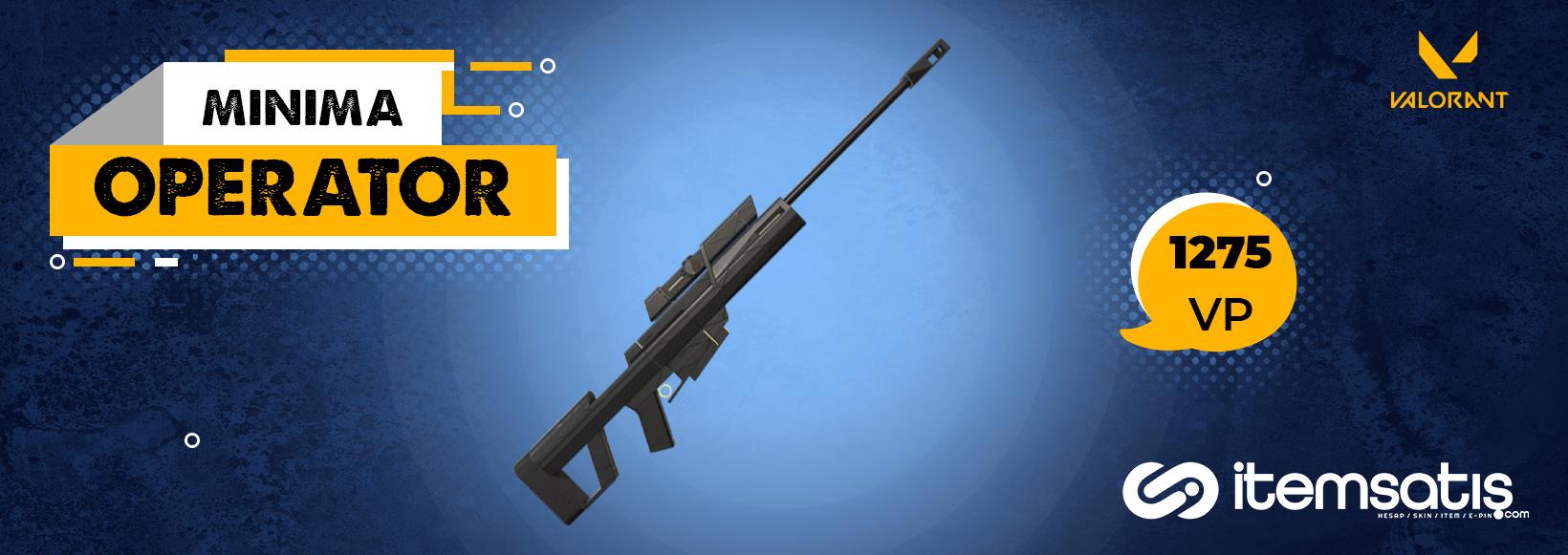 VALORANT Operatör Silahı Tüm Skinleri