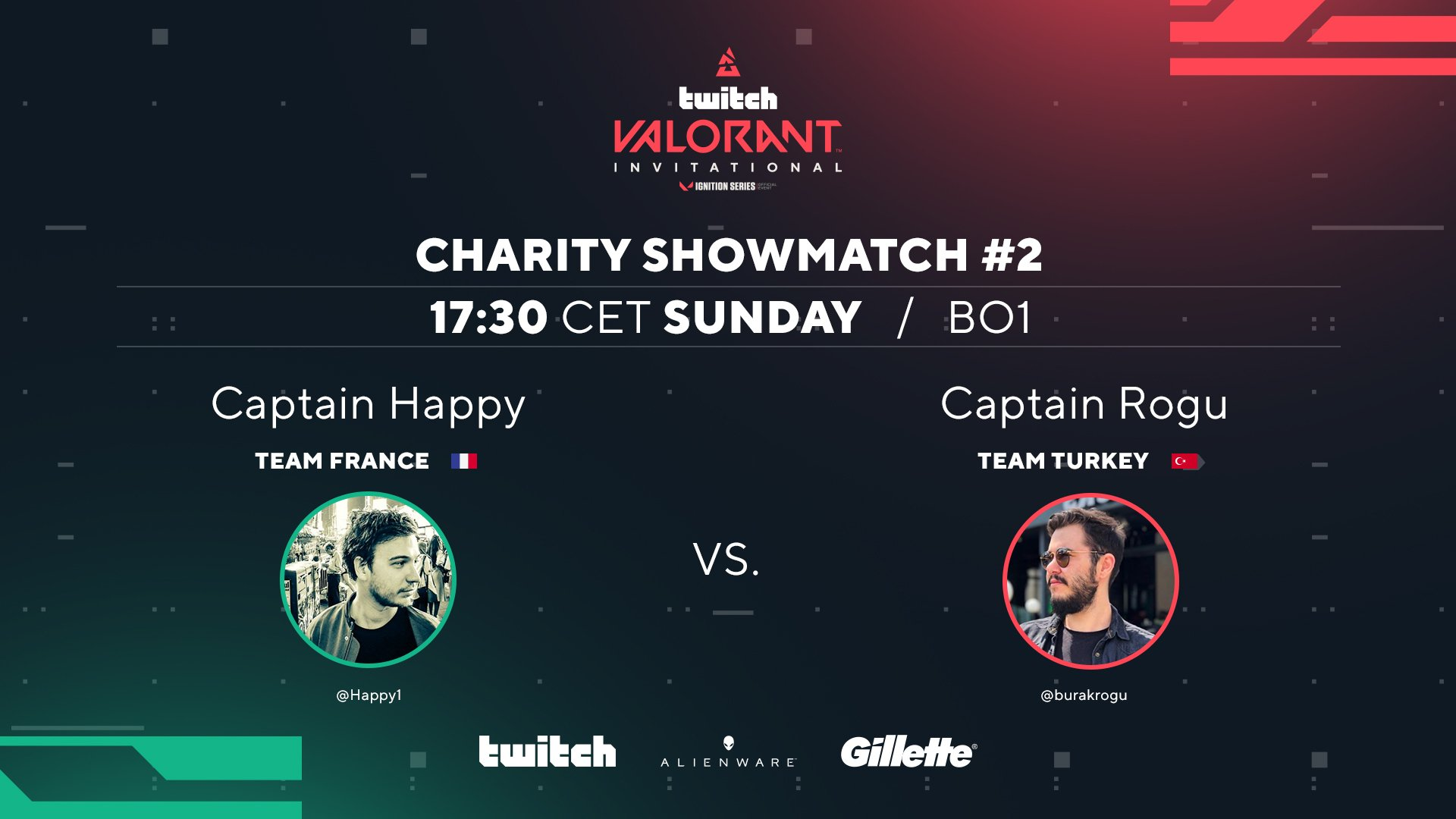 w0xic, BLAST Valorant gösteri maçına katılacak.