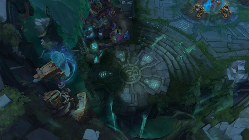 League of Legends Yeni Harita Ruined King Sızıntıları
