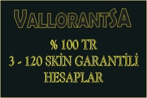 %100 TR 3-120 SKİN GARANTİLİ