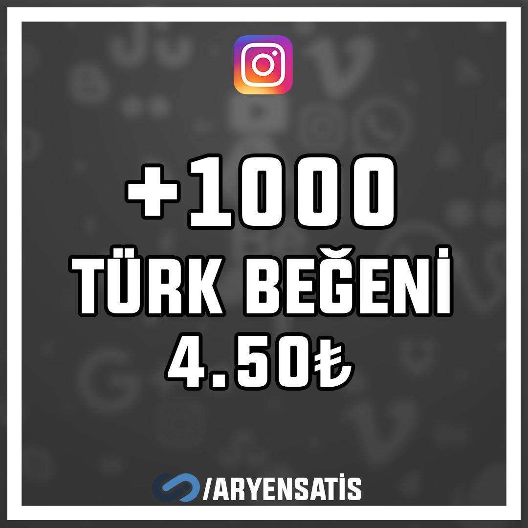 +1.000 Türk Beğeni