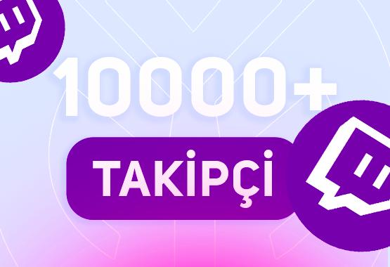 +10.000 TWİTCH TAKİPÇİ // 7/24 ANINDA TESLİM !