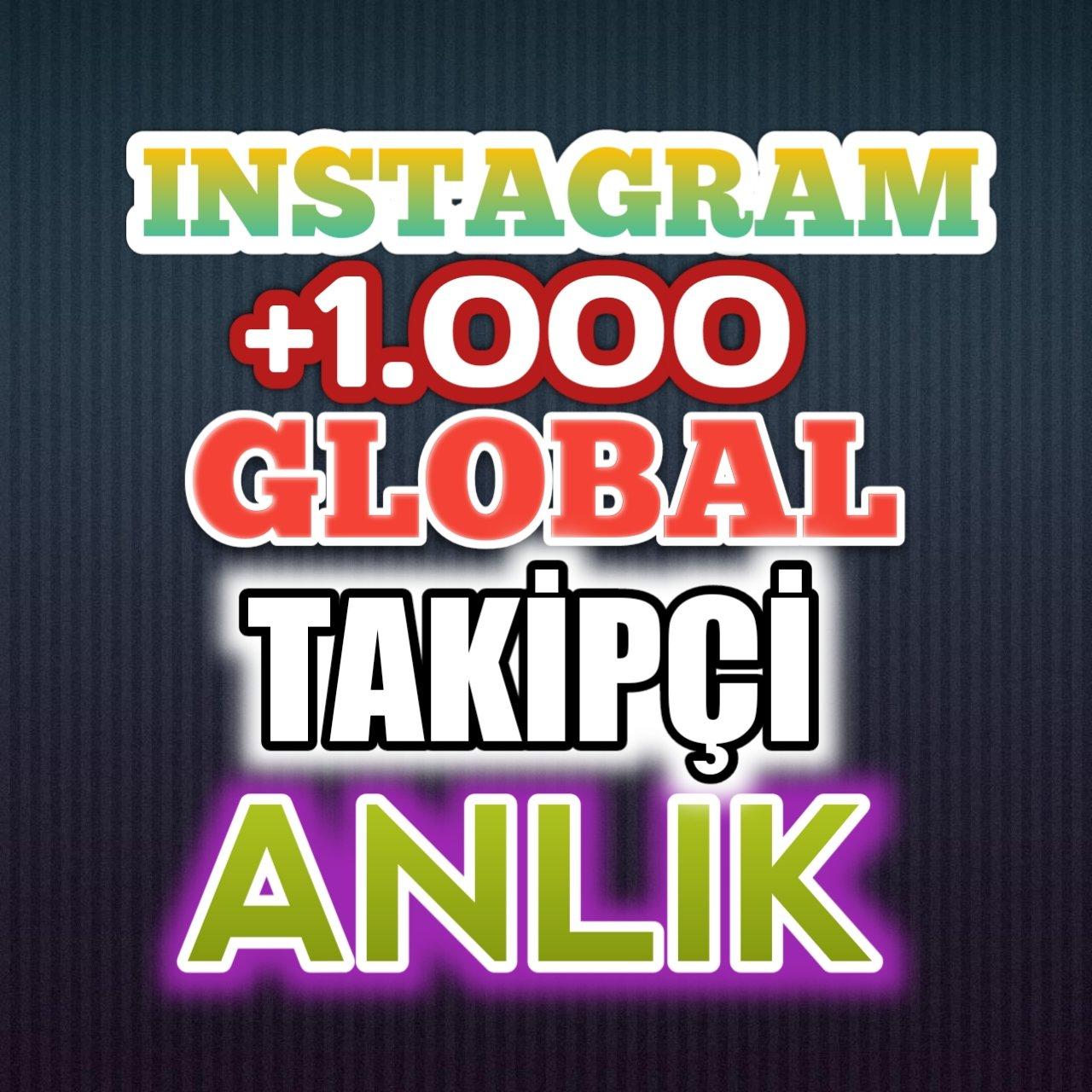+1.000 Instagram Takipçi Global