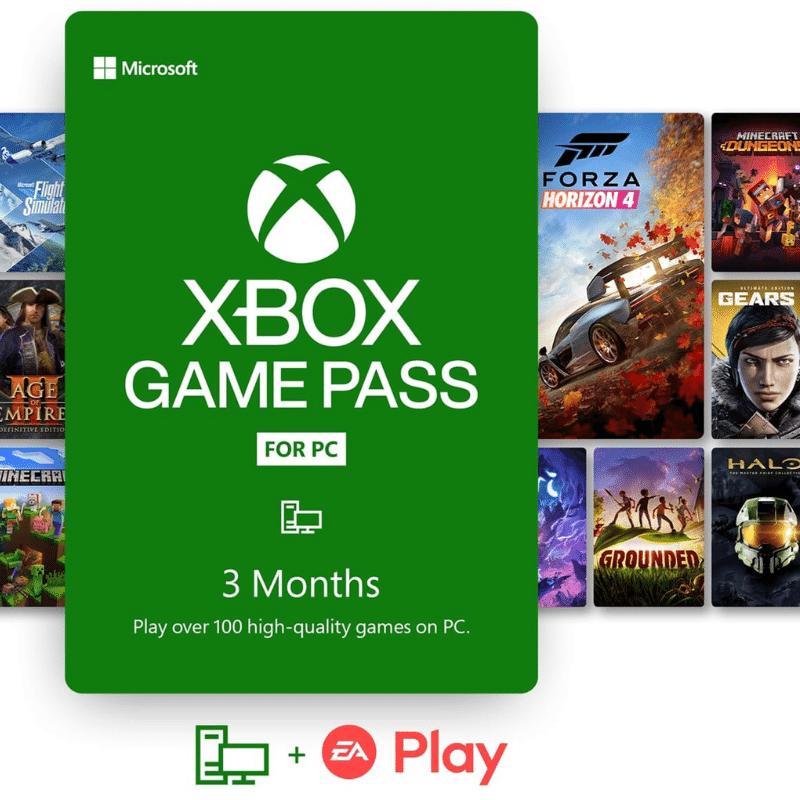 3 Aylık Xbox Game Pass Kodu PC
