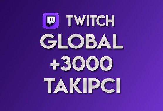 ♻️ 3.000 Global Takipçi  ANLIK  EN KALİTELİSİ