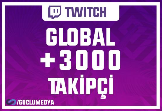 +3.000 Twitch Takipçi