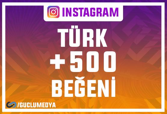 +500 Türk Beğeni