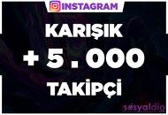 + 5.000 Takipçi | KAMPANYA | ANINDA BAŞLAR