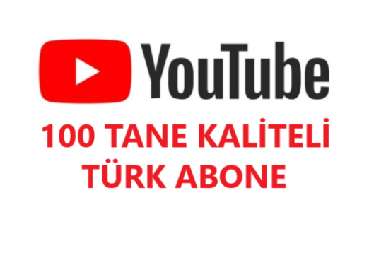 100 Tane Kaliteli TÜRK Abone Telafi GARANTİLİ