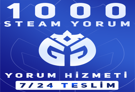 1000 ADET STEAM YORUM HİZMETİ !