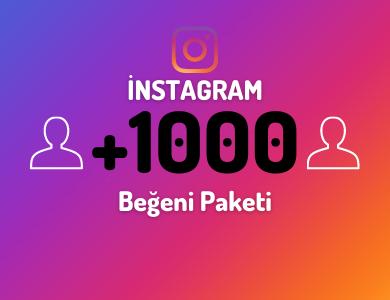 1000 Bayan Ağırlıklı Beğeni Paketi