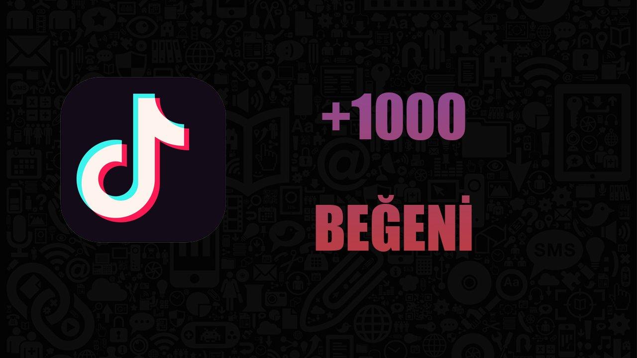 1000 BEĞENİ / ANLIK GÖNDERİM / KALİTELİ HİZMET