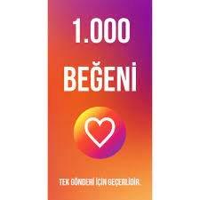 1.000 BEĞENİ / KEŞFET ETKİLİ / ANINDA TESLİM