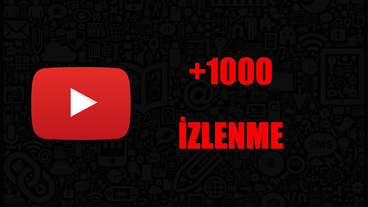 1000 İZLENME / ANLIK GÖNDERİM / KALİTELİ HİZMET