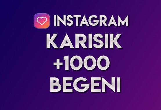 1.000 Karışık Beğeni   ANLIK   KEŞFET ETKİLİ