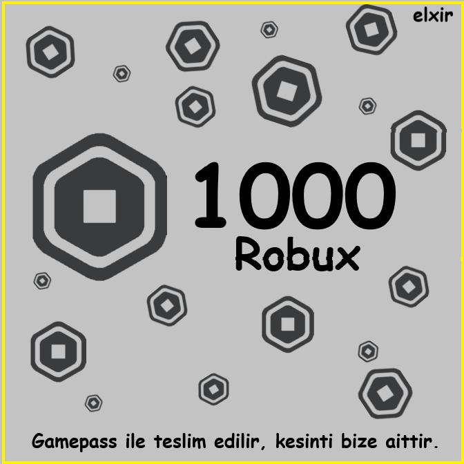 1000 Robux