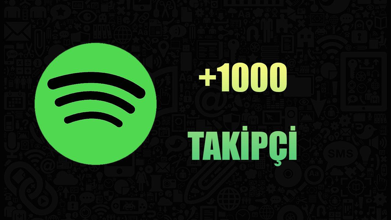 1000 SPOTİFY TAKİPÇİ / ANLIK GÖNDERİM
