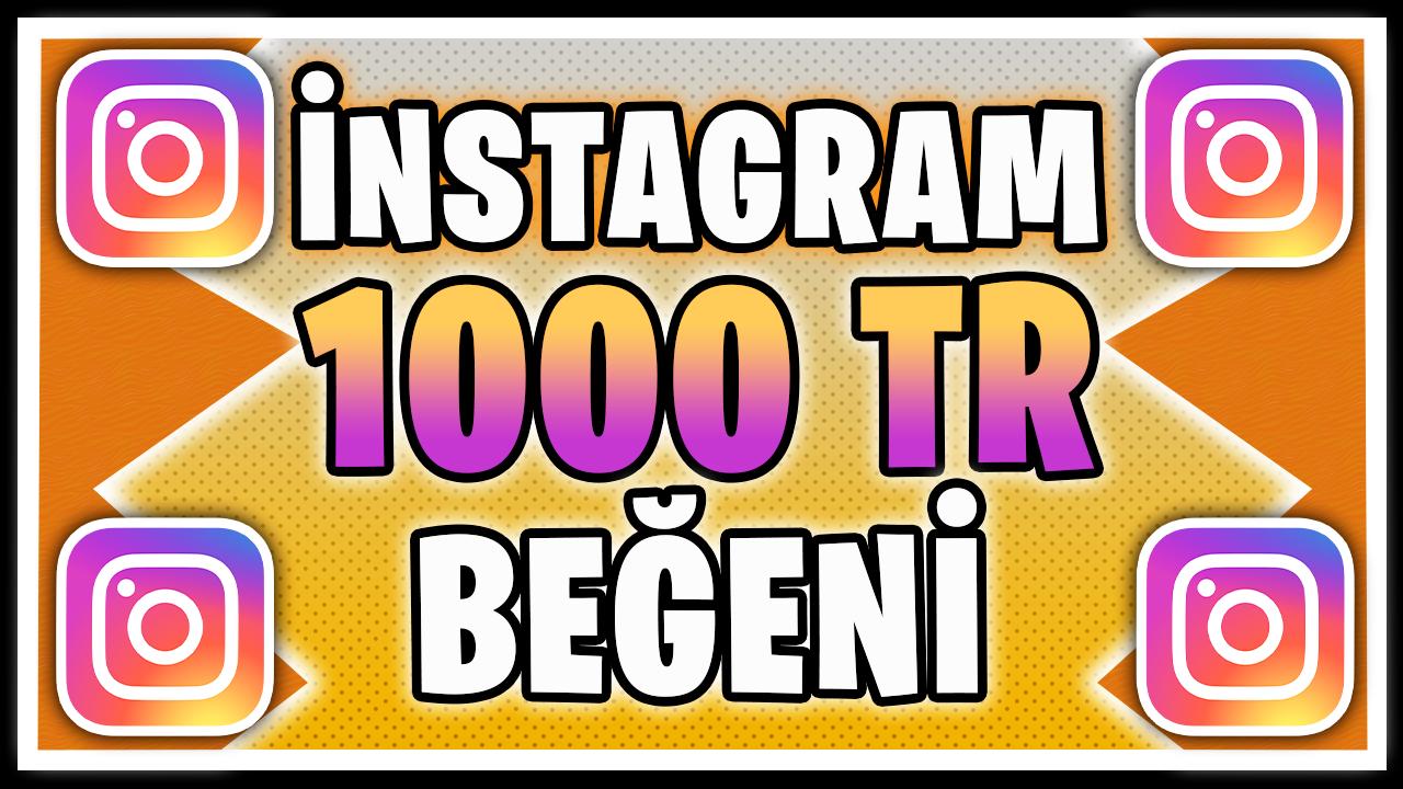 1000 TÜRK BEĞENİ / HIZLI TESLİMAT / KALİTELİ